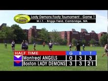Stateside Footy - Episode 12-06: Boston Lady Demons Womens' Footy Tournament