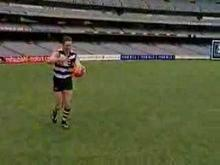 AFL Skills Video - Torpedo Punt