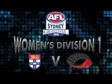2015 BLK AFL Sydney Division Women's Div 1 Grand Final - Sydney Uni v Newtown