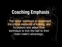 Kicking Guide (for Coaches) - 8.Kicking to advantage
