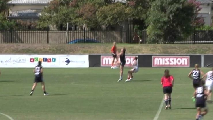 Victorian AFL Draft Trial Game - March 22. 2015