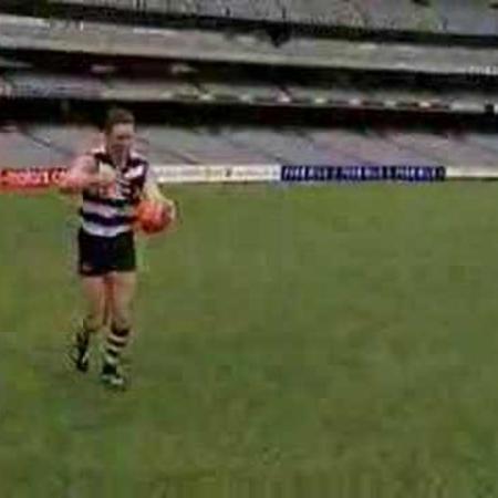 AFL Skills Video - Torpedo Punt
