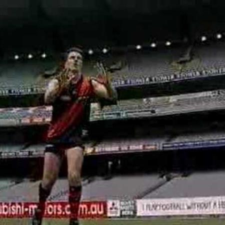 AFL Skills Video - Hand Mark