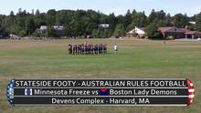 Stateside Footy - Episode 13-05: Womens' Footy - Minnesota vs Boston & Minnesota vs New York
