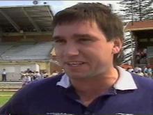 State Womens Football Match 1990