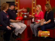 "Milwaukee Bombers on ""The Morning Blend"""