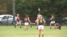 2016 AFL Women:  Northern Territory vs Tasmania